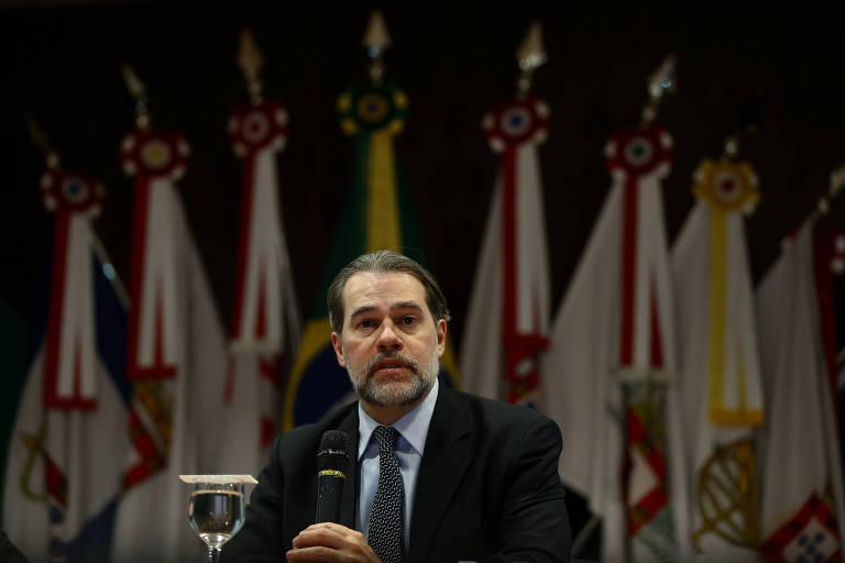 O presidente do STF (Supremo Tribunal Federal), ministro Dias Toffoli,