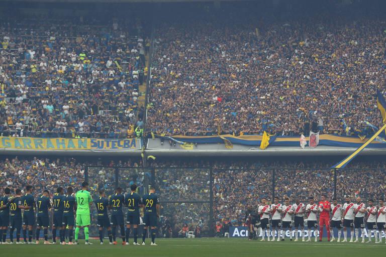 Boca Juniors x River Plate - Final da Copa Libertadores