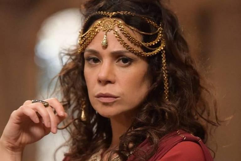"""Vanessa Gerbelli como Herodíade em """"Jesus"""""""