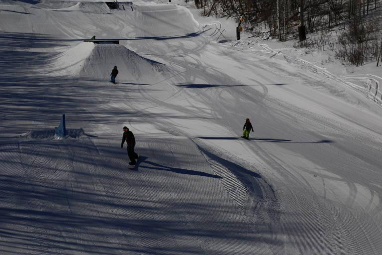 Maior estação de esqui dos EUA