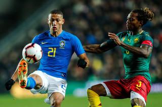 International Friendly - Brazil v Cameroon