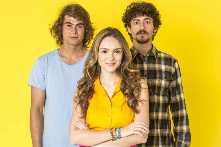 Rafael Vitti, Isabelle Drummond e Jesuíta Barbosa interpretam João, Manuzita e Jerônimo na fase adulta