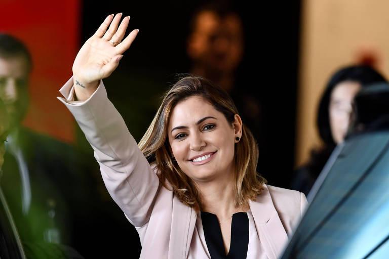 A futura-primeira-dama, Michelle Bolsonaro