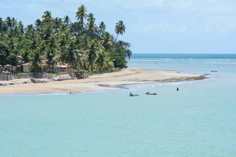 Praia do Toque, em São Miguel dos Milagres (AL)