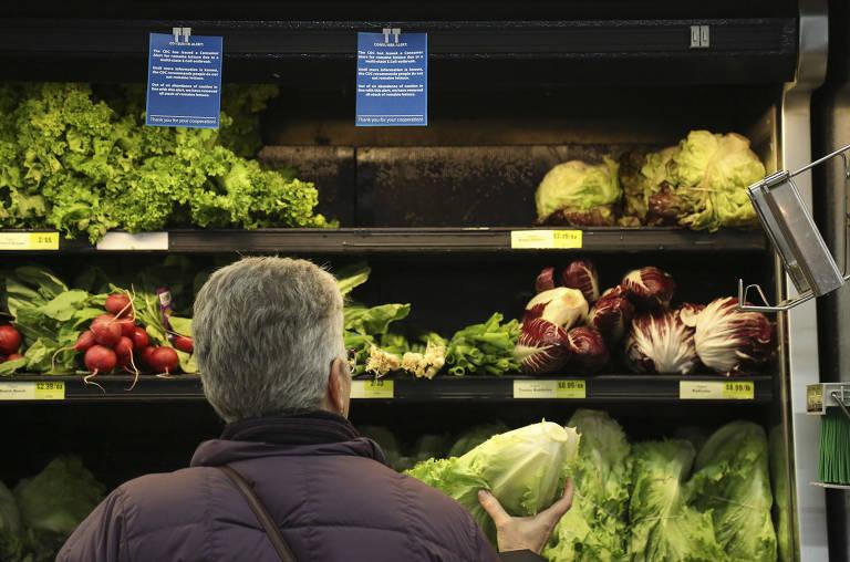 Contaminação alimentar nos EUA