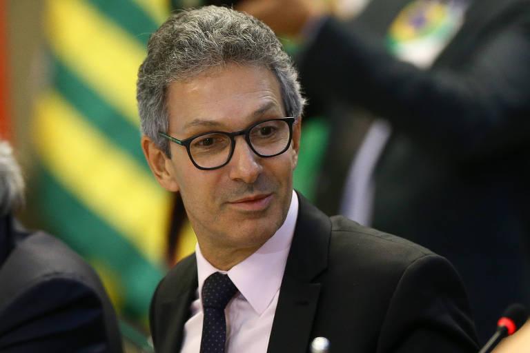 O governador de Minas Gerais, Romeu Zema (Novo), que enfrenta dificuldades em seu começo de mandato