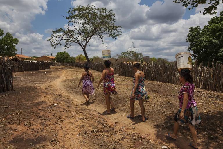 Guaribas, no interior do Piauí, tem população estimada em 4.489 pessoas; desertos de notícia atingem principalmente cidades com menos de 11 mil habitantes no Nordeste