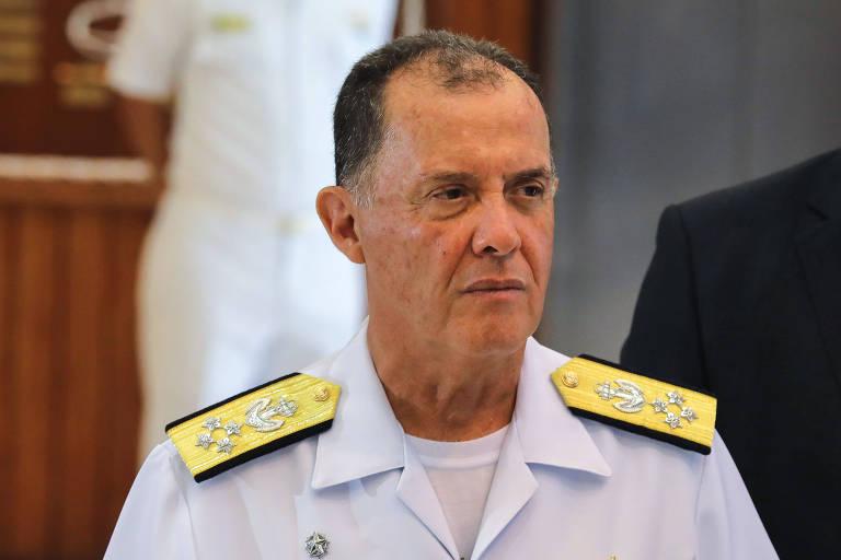 O novo comandante da Marinha, almirante Ilques Barbosa