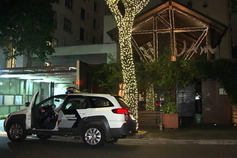 Fachada do restaurante onde sushiman trabalhava e foi morto por policiais em SP
