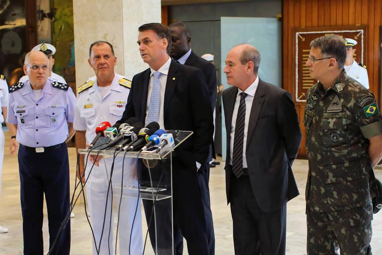 Ministros e outros cargos-chave do governo Bolsonaro