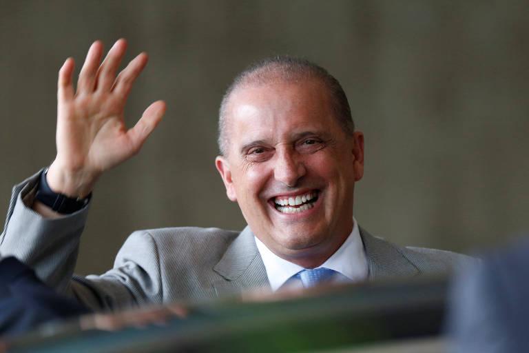 O deputado Onyx Lorenzoni (DEM-RS), futuro ministro da Casa Civil no governo de Bolsonaro