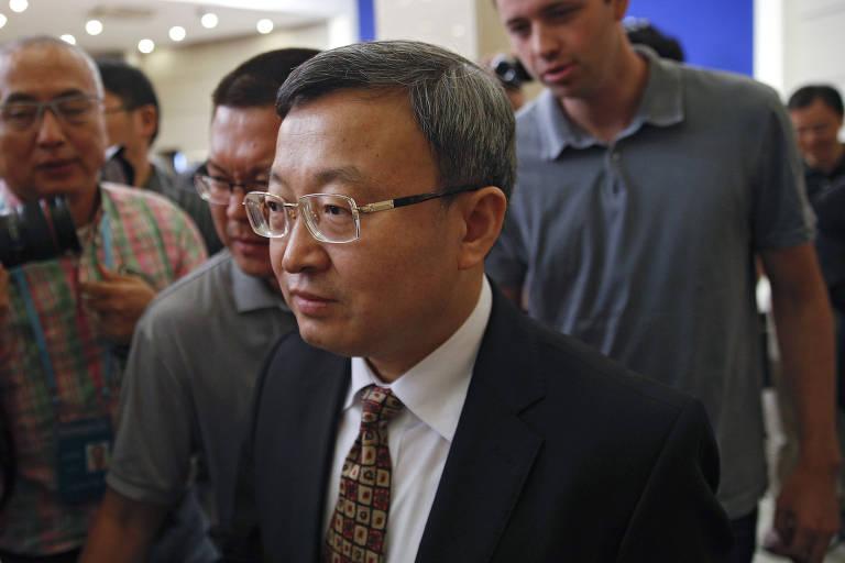 Vice-ministro do Comércio chinês, Wang Shouwen