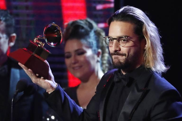 Maluma ganha prêmio de melhor álbum pop contemporâneo no Grammy Latino