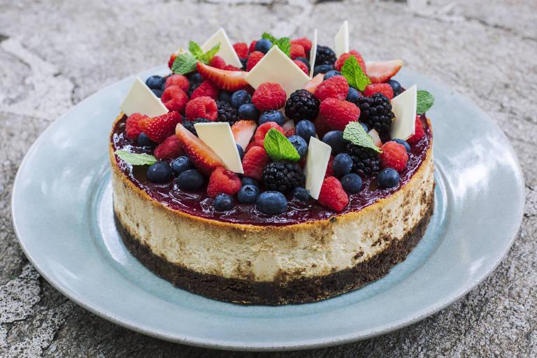 Torta doce da Sweet Fit, da Pâtissière e atleta Mara Mello