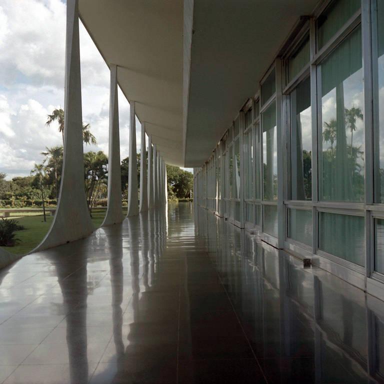Reflexos do palácio