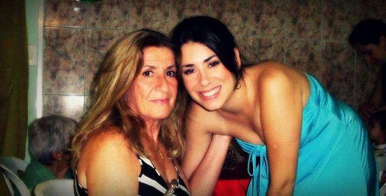 Raquel Canavero acompanhou a doença da tia, Eunice