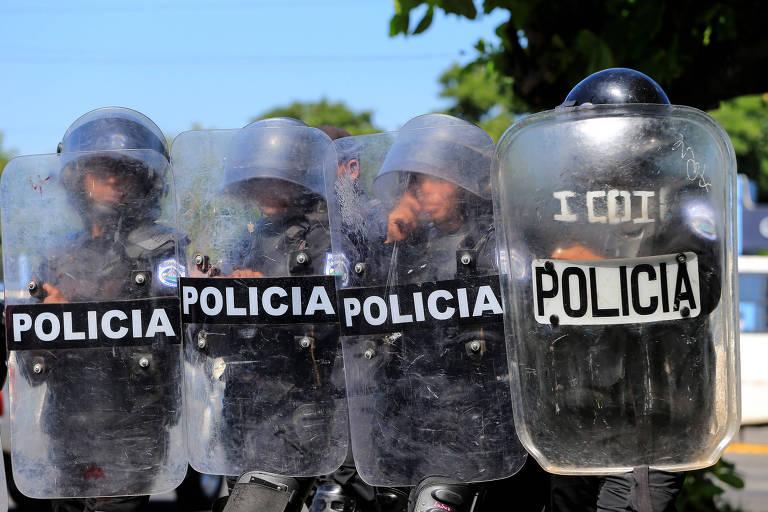 Polícia da Nicarágua proíbe manifestação da oposição