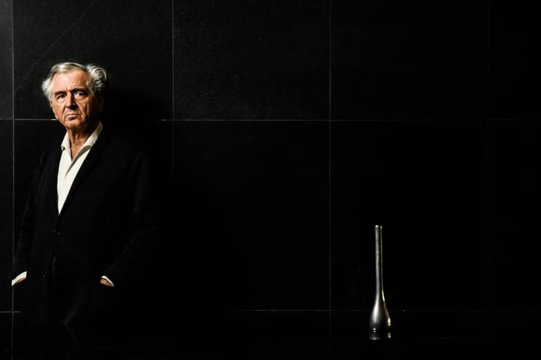 O filósofo francês Bernard-Henri Lévy em São Paulo
