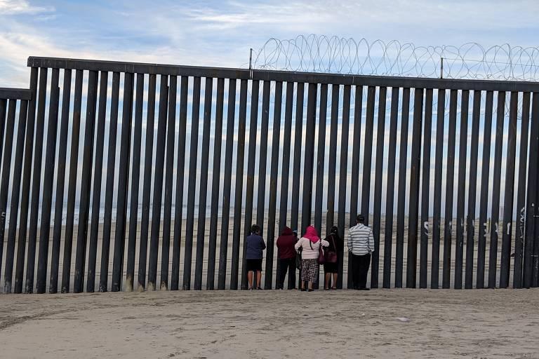Migrantes em Tijuana
