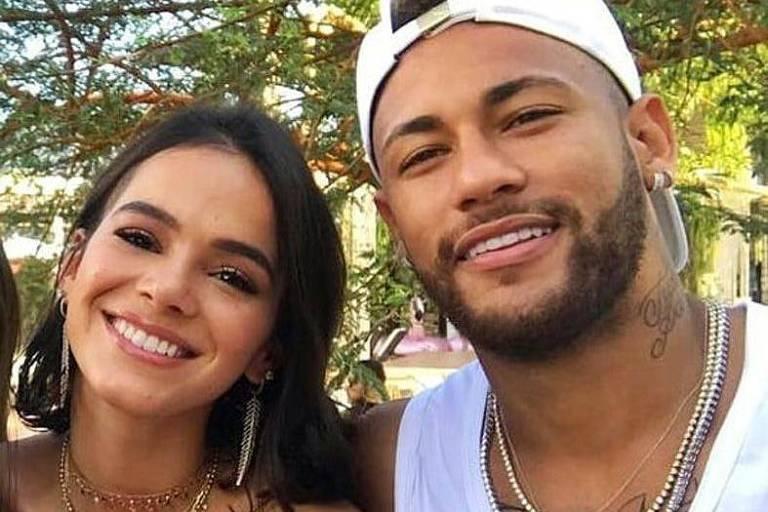 O ex-casal Bruna Marquezine e Neymar