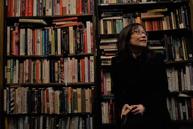 """A crítica literária Michiko Kakutani, autora do livro """"A morte da verdade"""""""