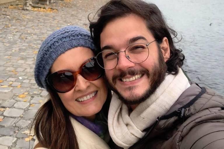 Fátima Bernardes e Túlio Gadelha em Paris Crédito: Instagram Fátima Bernardes