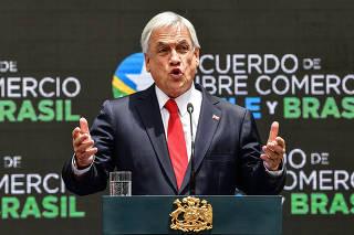 CHILE-SANTIAGO-BRASIL-VISITA