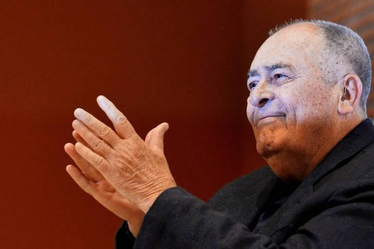 """O diretor italiano Bernardo Bertolucci, de """"O Último Tango em Paris"""""""