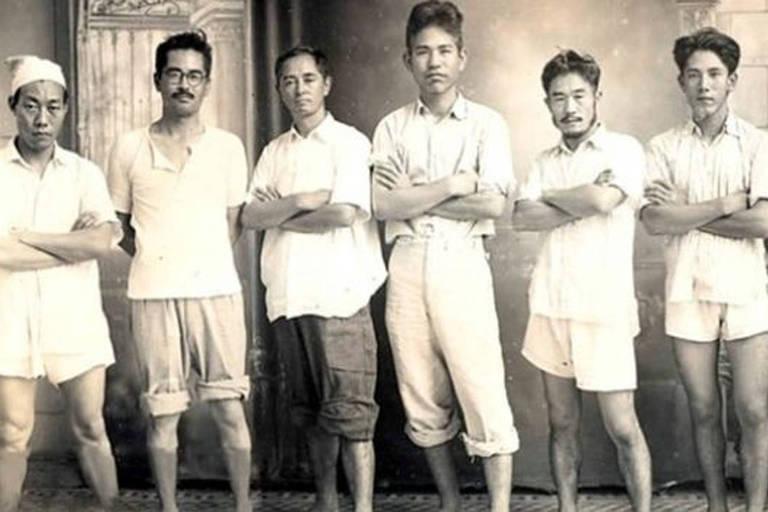 Membros do Shindo Reimei espalhavam que o Japão não havia perdido a guerra