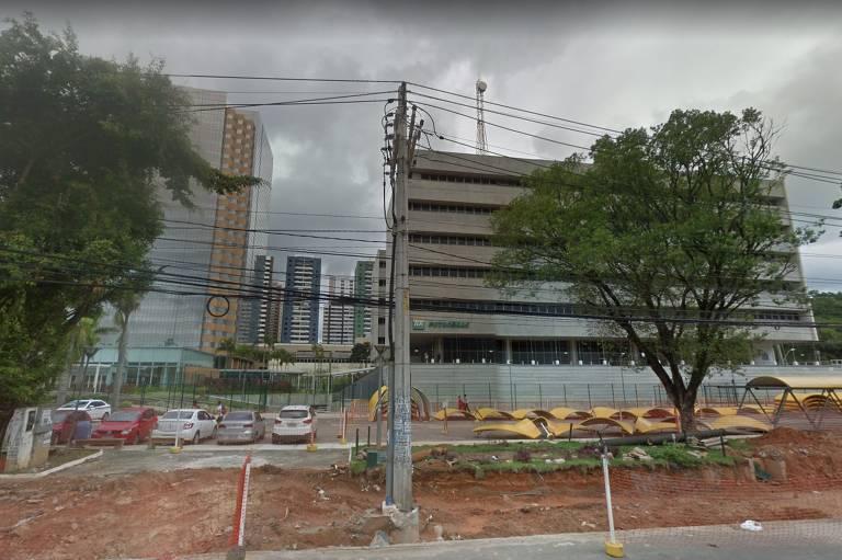 Sede da Petrobras em Salvador (BA) em abril de 2017