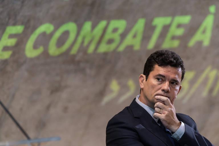 Sérgio Moro, futuro ministro da Justiça, participa de simpósio nacional de combate à corrupção na FGV