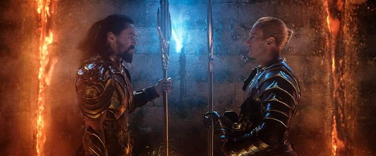 Cena do filme 'Aquaman' que estreia no dia 13 de dezembro