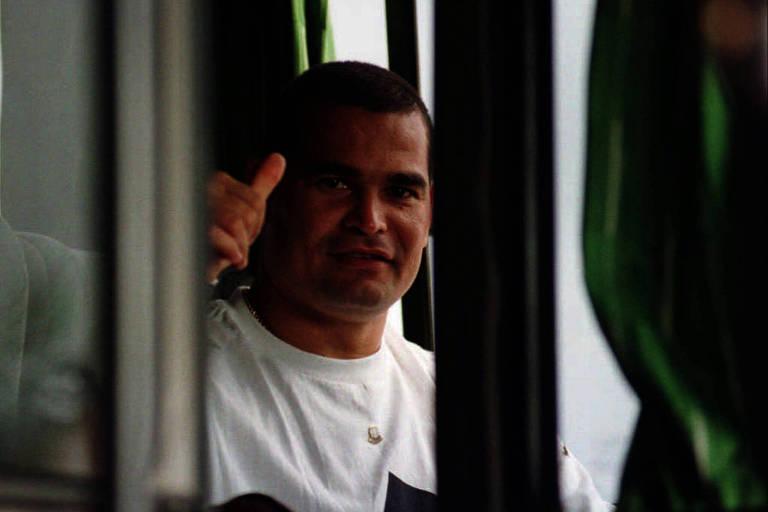 Chilavert durante a campanha do Paraguai nas eliminatórias para a Copa do Mundo de 2002