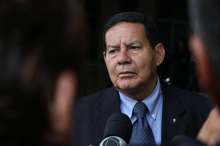 O general Hamilton Mourão, vice presidente de Jair Bolsonaro