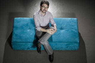 Retrato do economista Sérgio Lazzarini