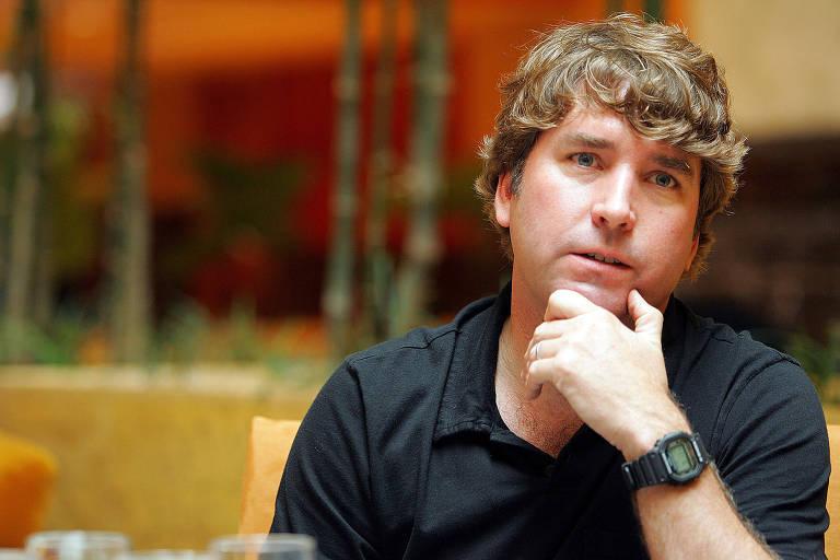 Stephen Hillenburg, criador do Bob Esponja, em 2005