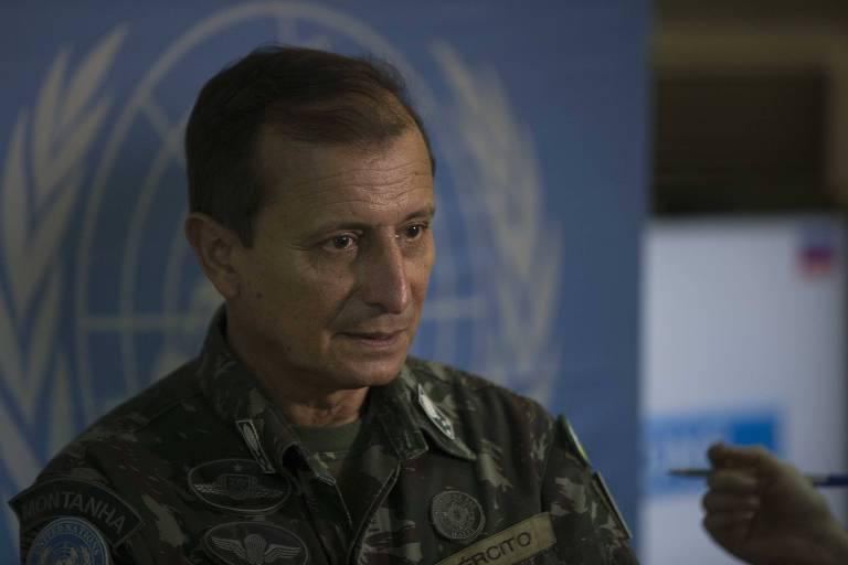 O general Ajax Porto Pinheiro, que será assessor de Toffoli no STF