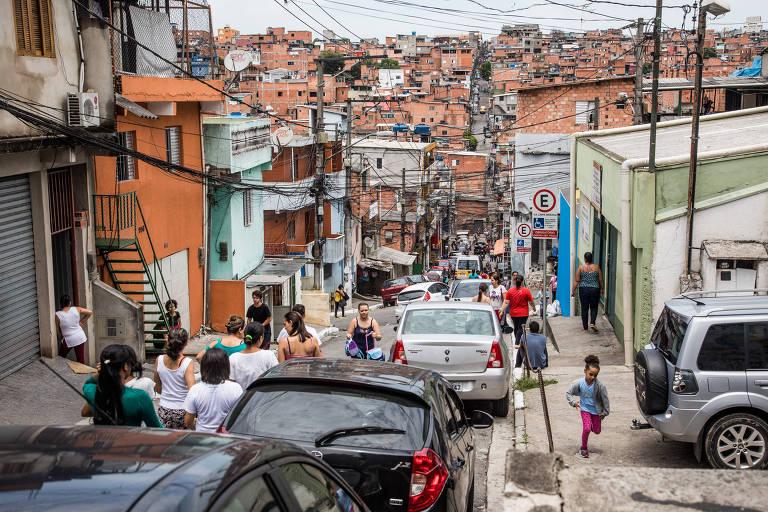 Retrato da desigualdade na cidade de São Paulo