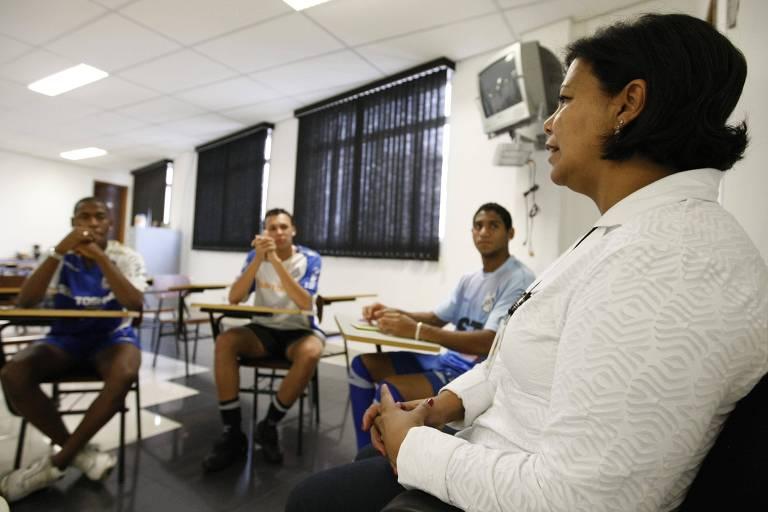 Hoje, Silvana é assistente social do Sindicato dos Atletas Profissionais de São Paulo