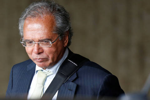 Economist Paulo Guedes, future economy minister, is seen after a meeting with Brazil's President-elect Jair Bolsonaro at the transition government building in Brasilia, Brazil November 27, 2018. REUTERS/Adriano Machado ORG XMIT: BSB106