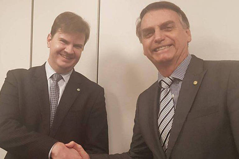 O presidente eleito, Jair Bolsonaro, anuncia Gustavo Henrique Rigodanzo Canuto como ministro do Desenvolvimento Regional