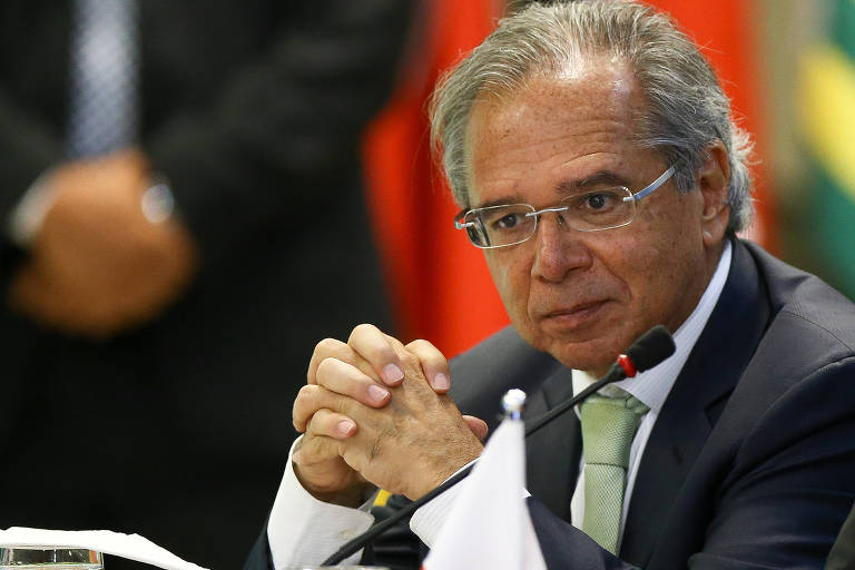 <strong>Paulo Guedes e sua equipe</strong>