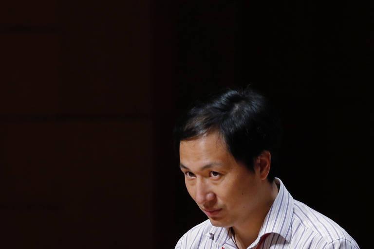 He Jiankui, cientista chinês que afirma ter criado os primeiros bebês geneticamente modificados