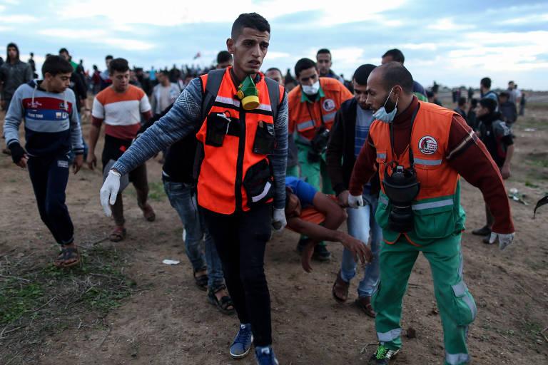 Feridos sofrem com falta de atendimento na Faixa de Gaza, diz MSF