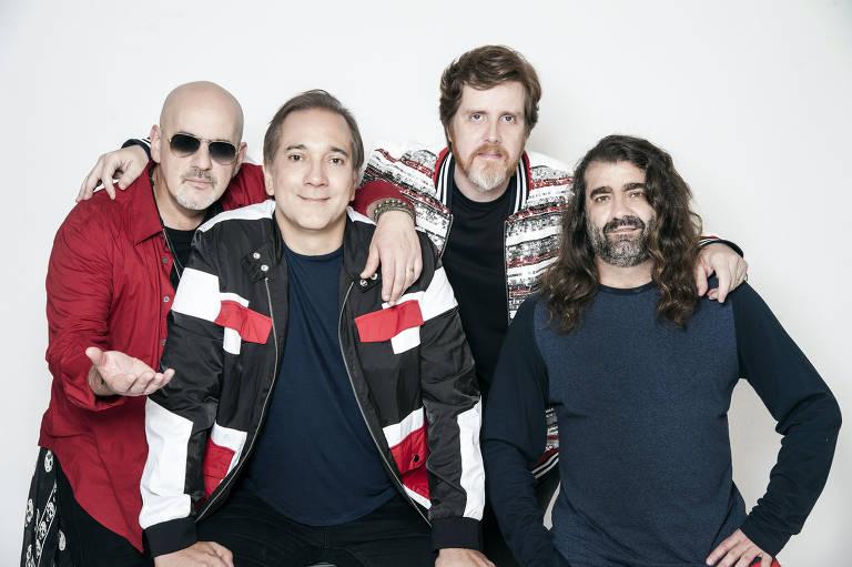 Biquini Cavadão lança sexta (30) um álbum em homenagem a Herbert Vianna