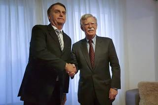 Jair Bolsonaro, John Bolton