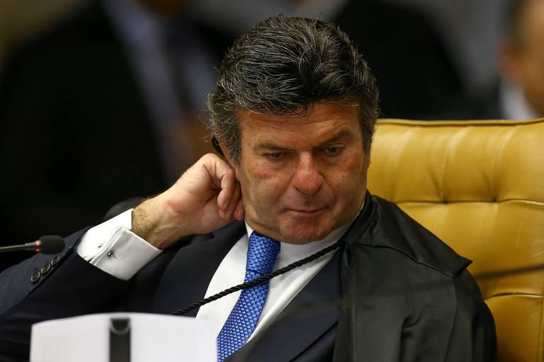 O ministro Luiz Fux, que está à frente do plantão do STF nesta terça (29)