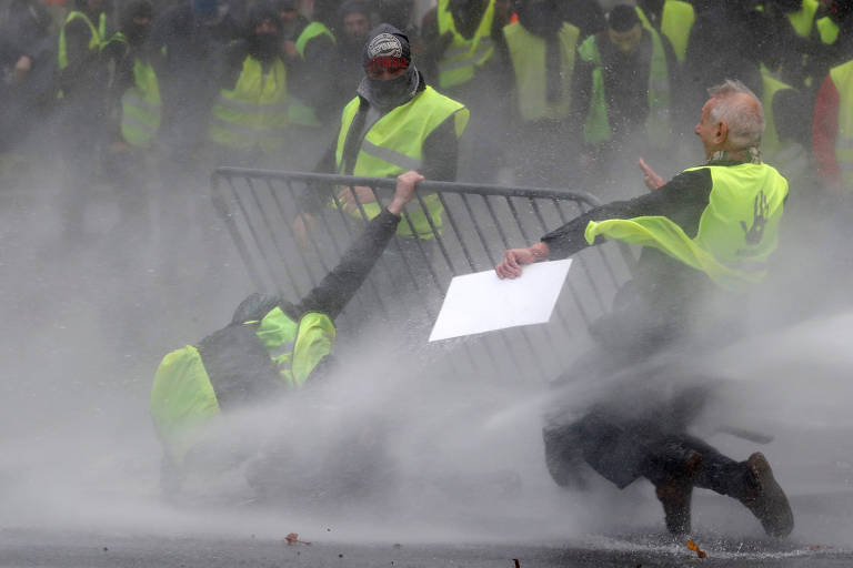Confrontos em protestos de