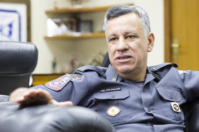 O coronel Marcelo Vieira Salles, recém nomeado comandante-geral da Polícia Militar de SP