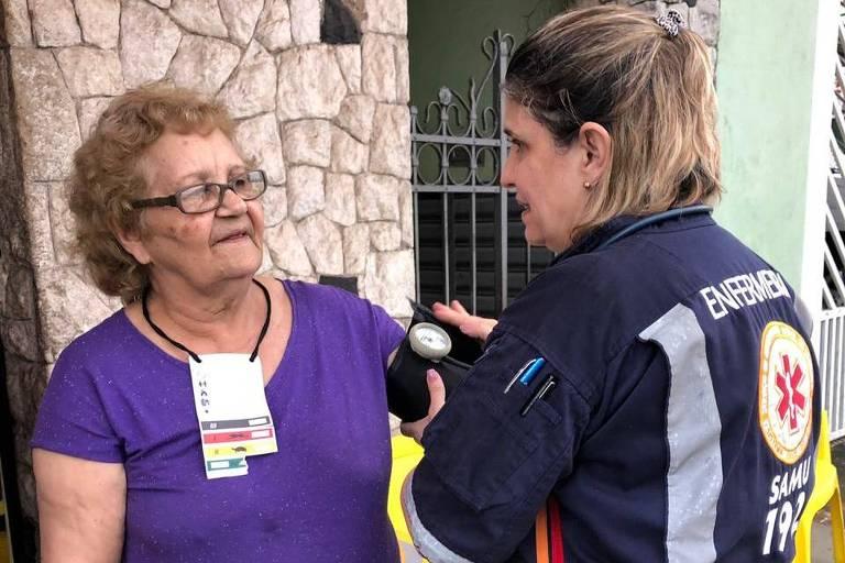 Neusa Umile Bovolenta, 76, aposentada, perdeu a casa no acidente